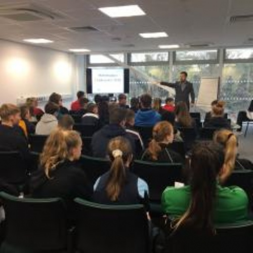 Students work with sport's best at annual performance conference